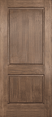 Rustic Hardwood Fibreglass Door