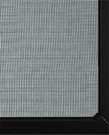 Fibreglass mesh screen for sliding door