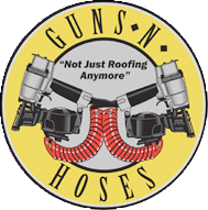 Guns and Hoses Roofing in Calgary logo